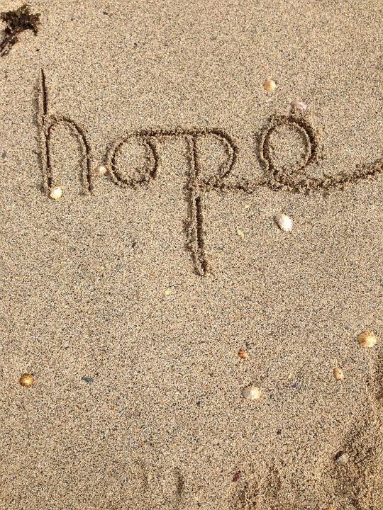 hopewritteninsand