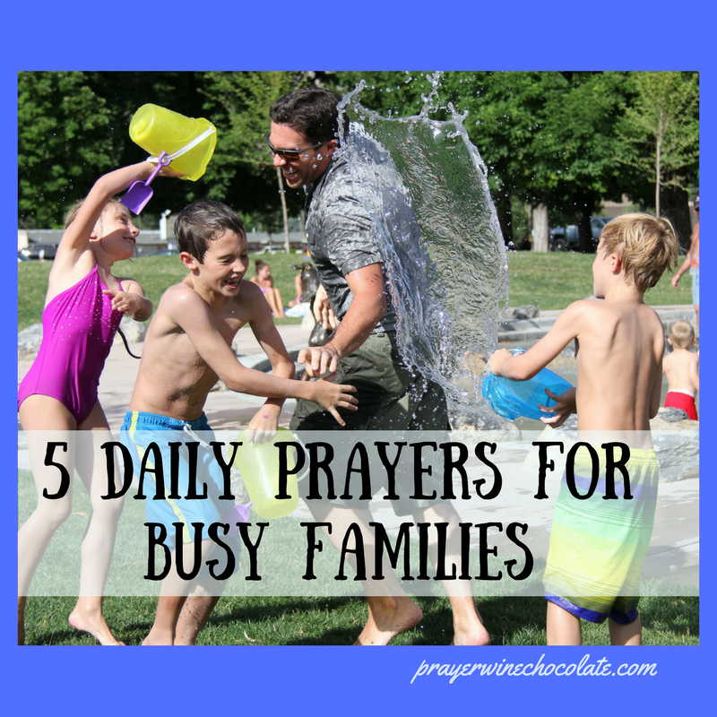 5 Daily Prayers for Busy Families