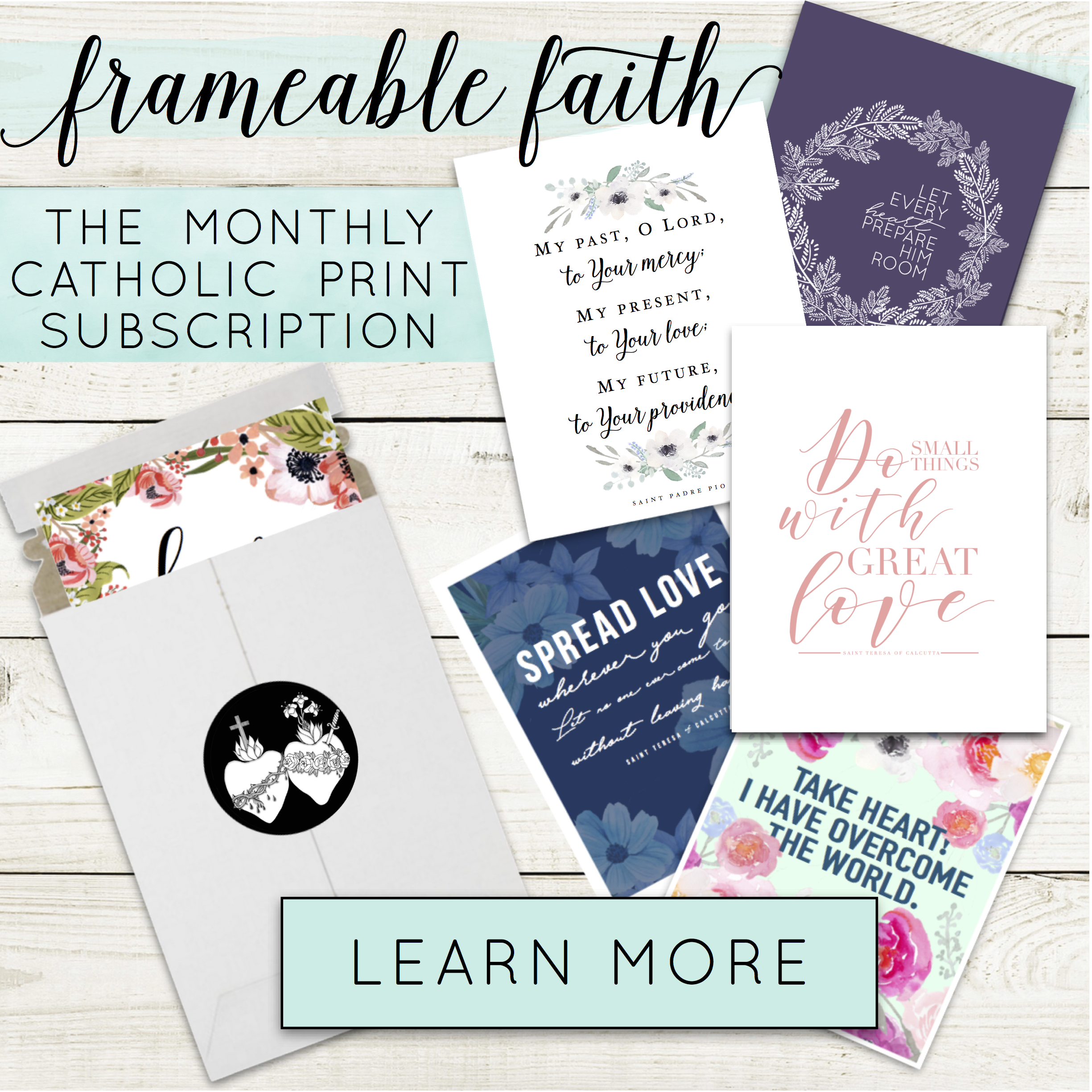 Frameable Faith Affiliate Box