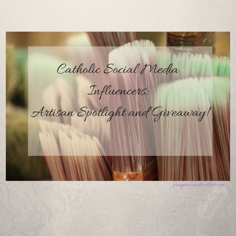 Catholic Social Media Influencers: Artisan Spotlight and Giveaway!